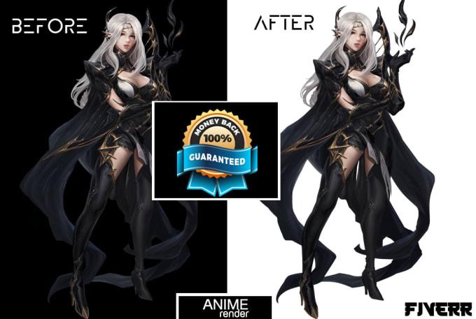 Unduh 60 Background Render Anime HD Terbaik