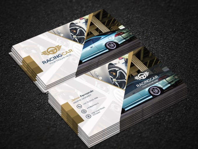 Make The Best Business Card Designs For Your Company By Nu1chandi