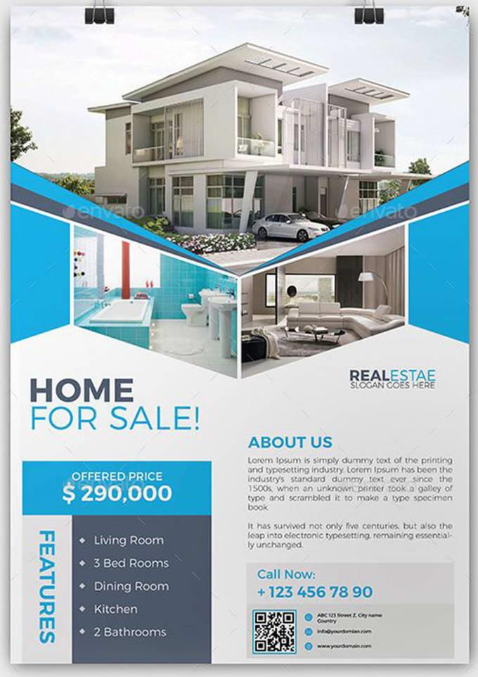 design professional real estate flyer or poster by frida18
