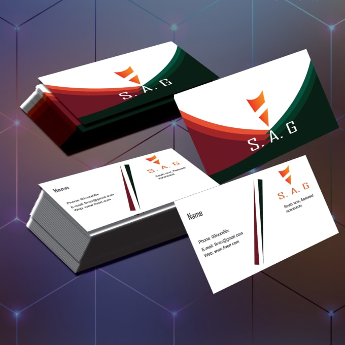 Provide Different Types Of Business Cards By Sadik14