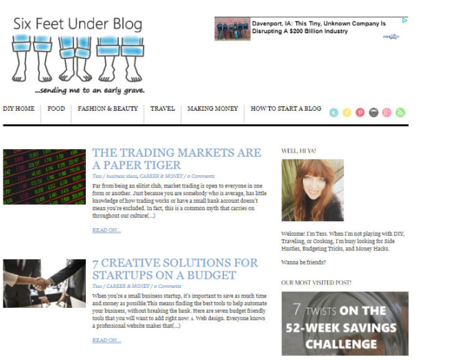 guest post your article on my lifestyle blog