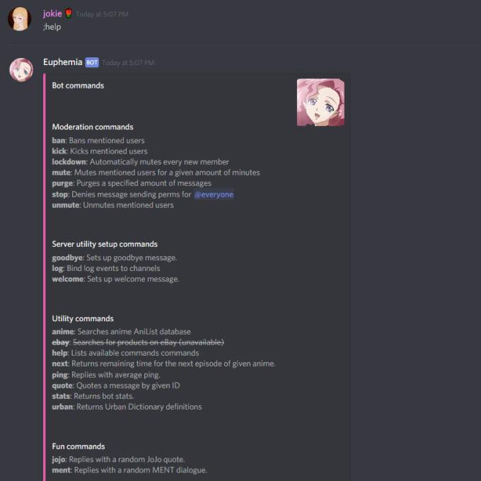 create a modular expandable discord bot
