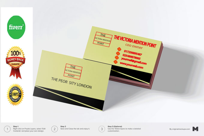 Unique business card and logo desin by roustom unique business card and logo desin reheart Image collections