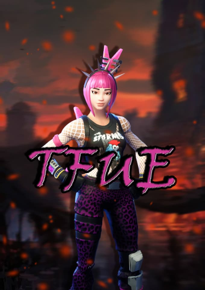 Make a fortnite profile picture with your name or ...