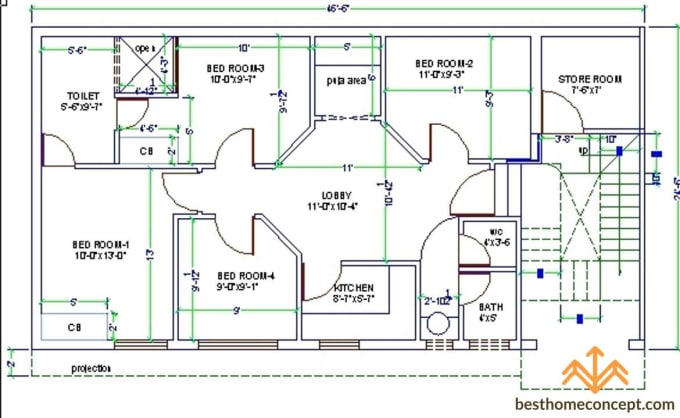 autocad floorplan drawings or redraw