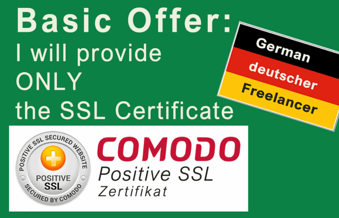 Install ssl zertifikat, get your browser padlock now by Homeofficeweb