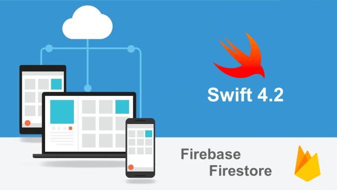 develop native ios app in swift with firebase firestore