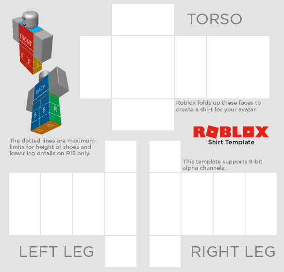 make you a complete custom clothing for your roblox avatar