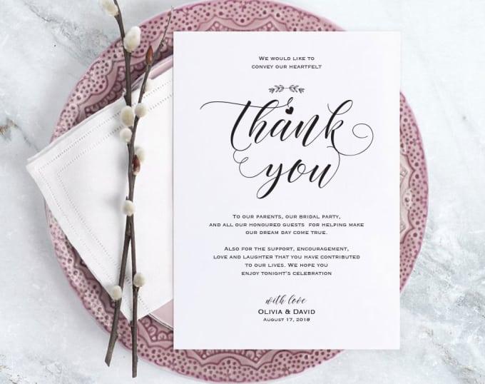 Design A Beautiful Wedding Invitation By Minic88