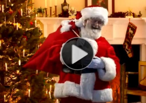 Catch Santa In Your House On Video