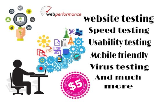 do website testing make it virus free