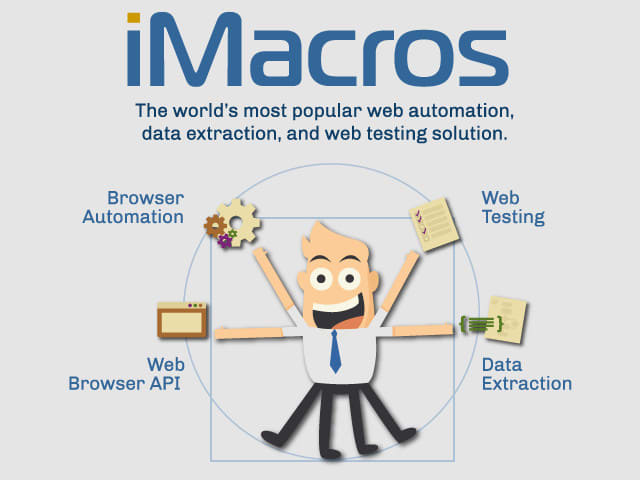 pay7day : I will write python, imacros, javascripts script for web scraping  and automation for $30 on www fiverr com