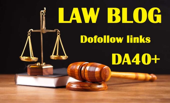 guest post on law, lawyer,attorney related dofollow blog