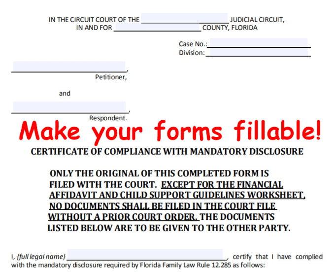Convert Pdfs And Docs To Fillable Forms By Mattfuen