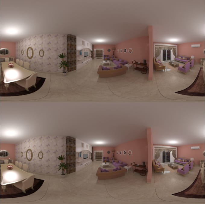 make stereoscopic 360 render for your VR