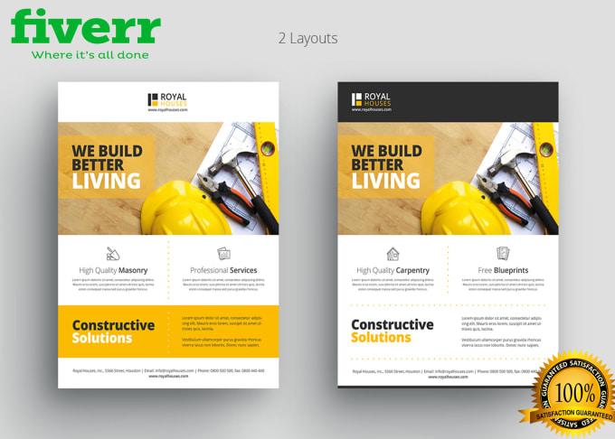 make professional business flyer design by mutahirali4474