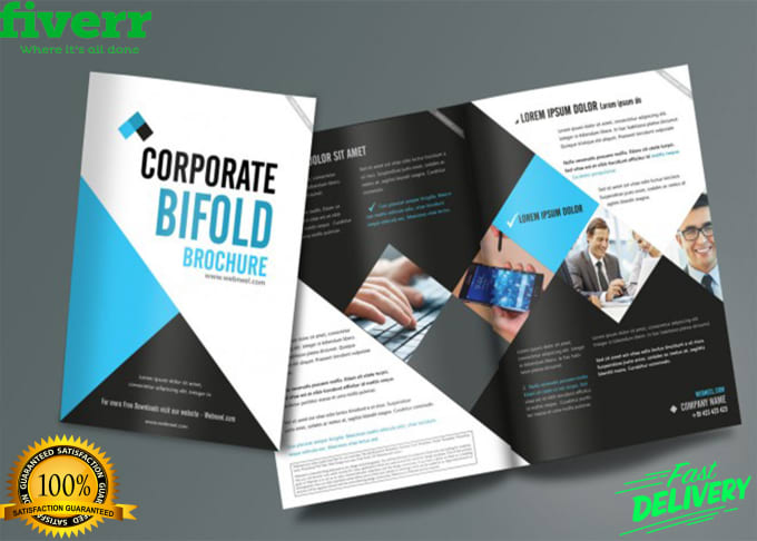 do unique and professional brochures designs by mutahirali4474