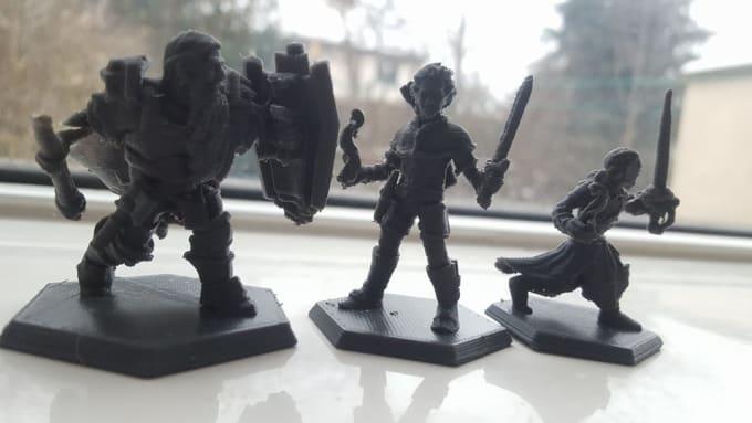 3d Printed Miniatures Files