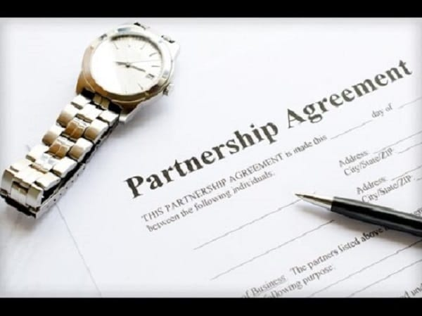 Draft A Partnership Agreement For Your Business By Awesomenessinc