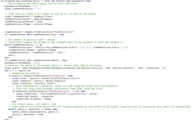 Roblox Animation Script