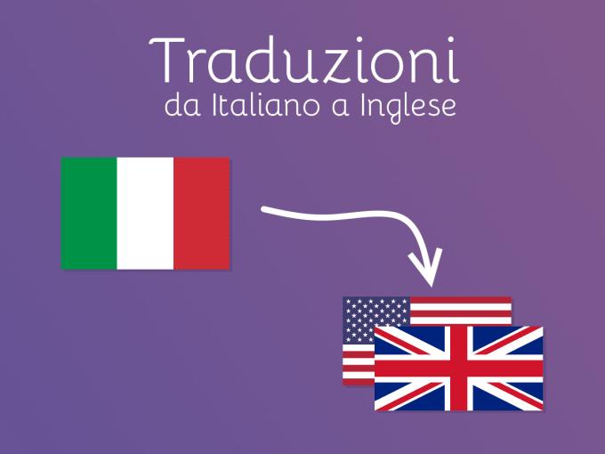 traduttore da inglese a italiano