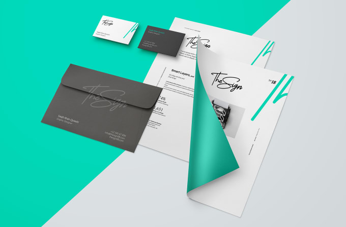 design an amazing business stationary for you by thesign98