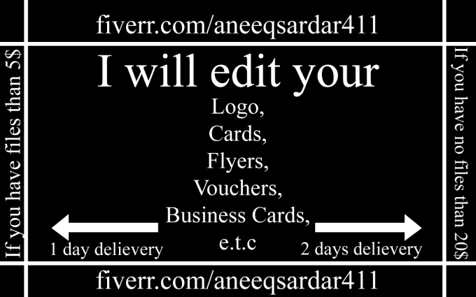 edit your banners flyers charts cards and any graphic by