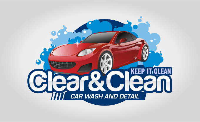 Create Premium Car Wash Logo By Vixuaholic