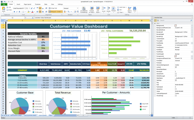 create a professional custom excel spreadsheet by ahsanali901