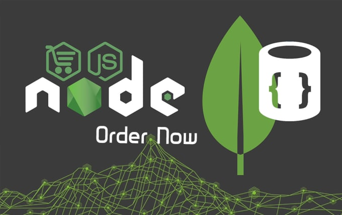 web restful api application with nodejs, express, develop