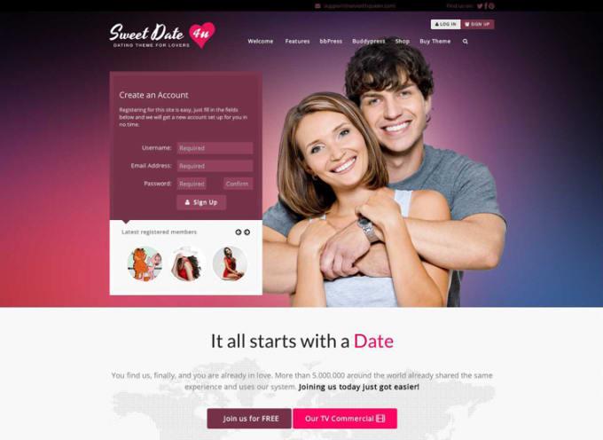 Set up a dating website