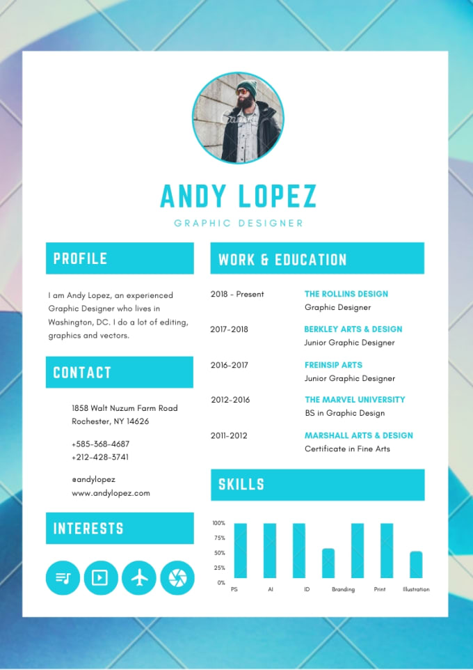 Design And Write A Powerful Resume By Nashafiza91