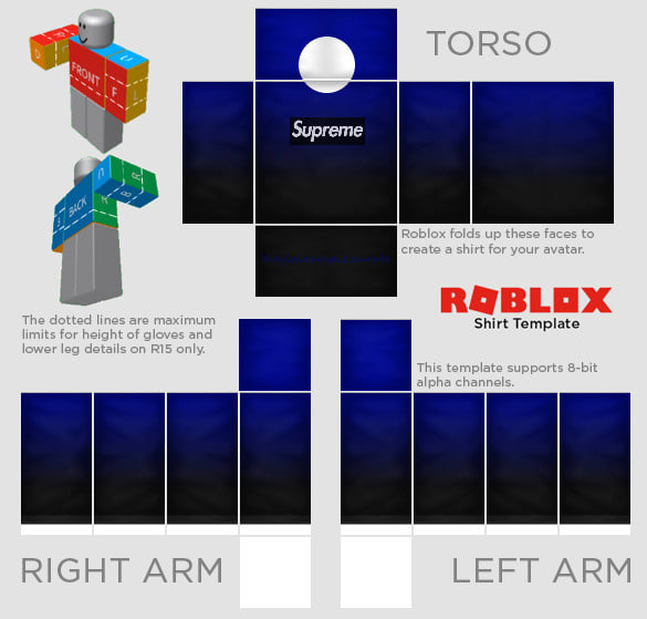 professional and cheap roblox shirt and or pant design by