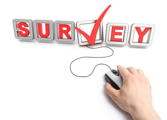 take opinion surveys and any survey on any topic