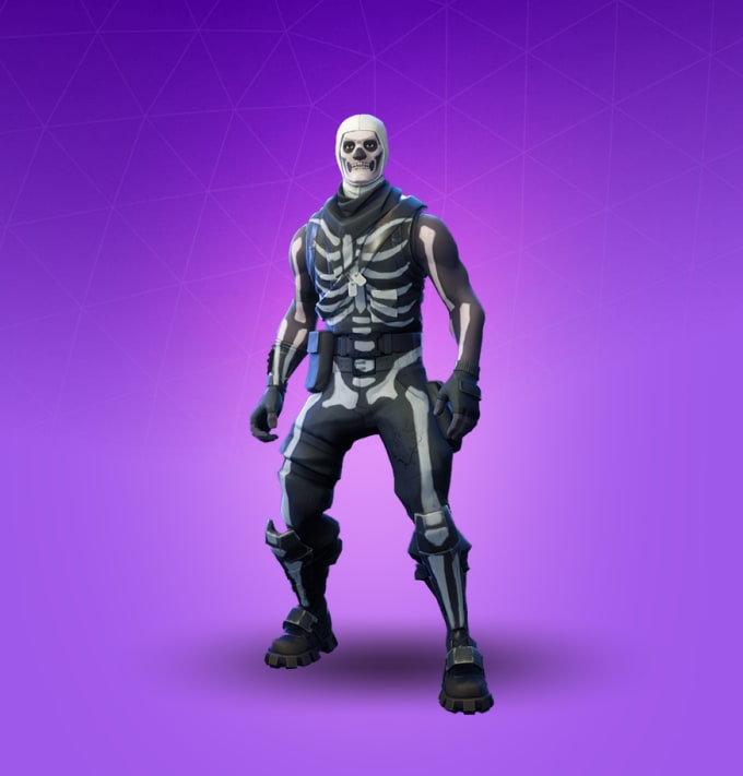 Play Fortnite Battle Royale With You As The Skull Trooper