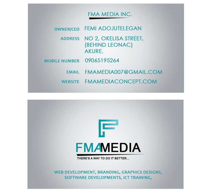 Create Your Business Card In 15 Hours Max By Fmamedia