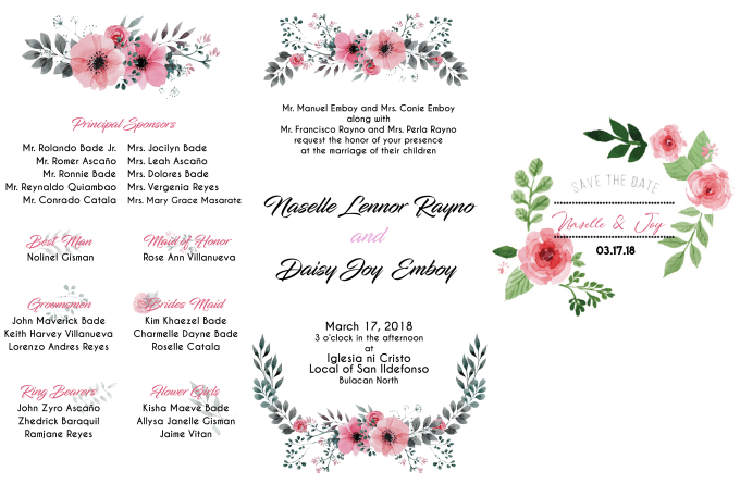 Design your wedding and party invitation in modern style by Maverickbd
