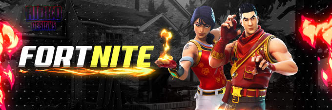 Create A Professional Fortnite Twitter Header For You By Hiokodesigns