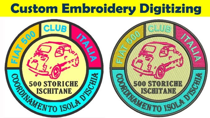 Custom Embroidery Digitizing Service Fiverr