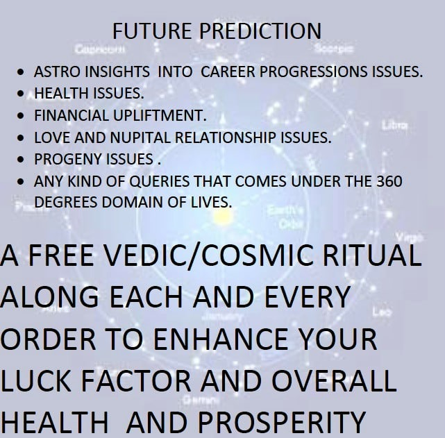 provide insights into future and a free vedic ritual using ancient astrology