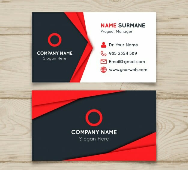 make business card for you using canva - Canva Business Card