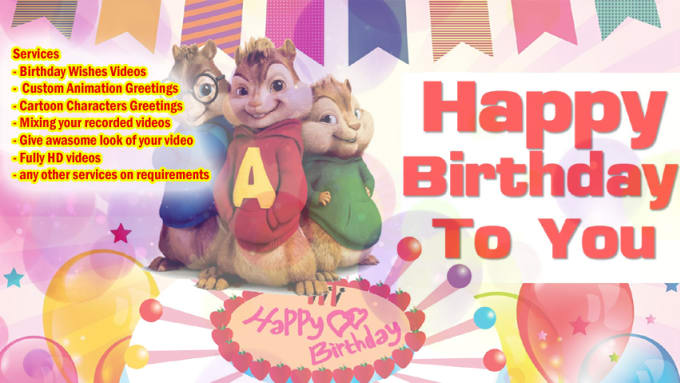Create Amazing Birthday Wishes Videos For Your Kids And Family