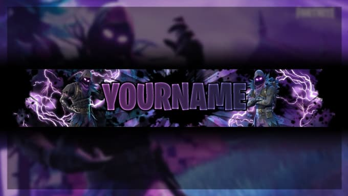 Make You High Quality Fortnite Youtube Banner By Zade01