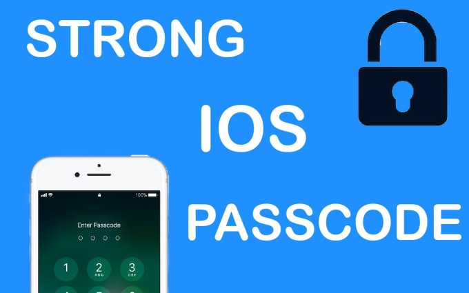 make you a strong ios passcode
