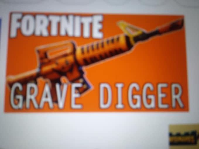 Fortnite Grave Digger