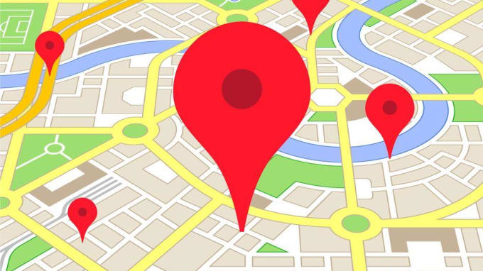 clamper : I will generate static map or pin locations, trails, on google on virtual map with pins, world map with pins, interactive map with pins,