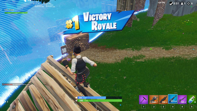 play with you in fortnite and try getting you a win