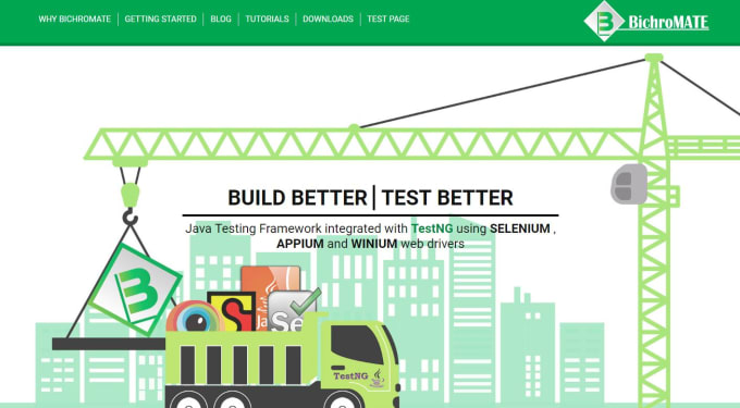 Data driven testing framework