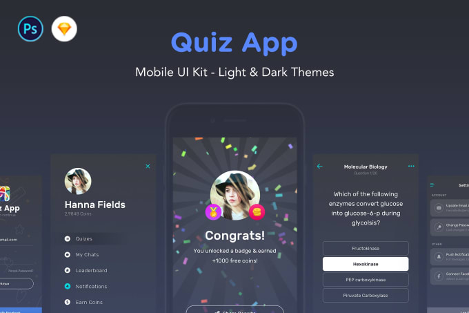 make quiz and trivia android app with admin panel