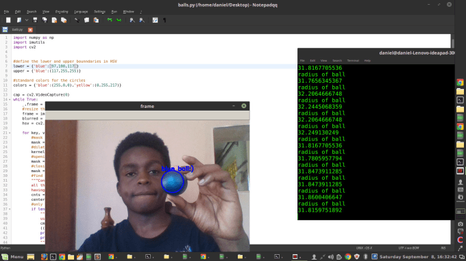 do computer vision projects for you with opencv and python